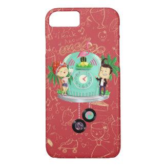 Rock 'n' Roll Wallclock iPhone 8/7 Case
