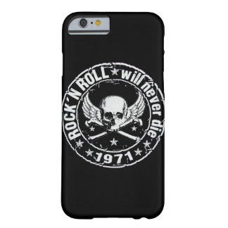 Rock n Roll Will Never Die Barely There iPhone 6 Case
