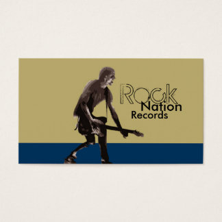 Rock Nation Records Business Card