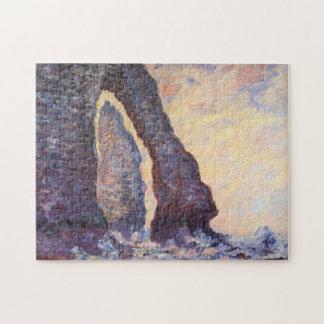 Rock Needle & Porte d'Aval Monet Fine Art Jigsaw Puzzle