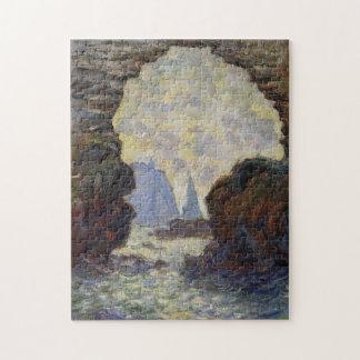 Rock Needle through Porte d'Amont Monet Fine Art Jigsaw Puzzle