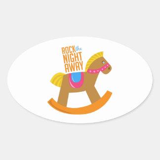 Rock Night Away Sticker