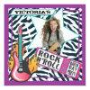 "Rock N'Roll Rock Star Birthday Party Invitations 5 25"" Square Invitation Card"