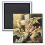 Rock of Ages 2 Inch Square Magnet