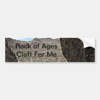 Rock of Ages Death Valley Photograph Car Bumper Sticker