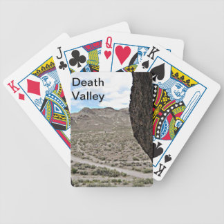 Rock of Ages Death Valley Photograph Bicycle Playing Cards