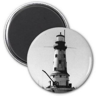 Rock of Ages Lighthouse 2 Inch Round Magnet