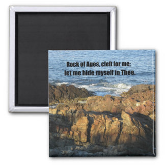 Rock of Ages Magnet