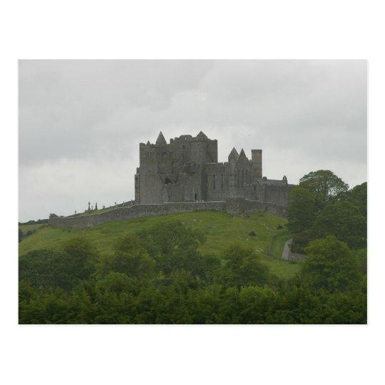 Rock Of Cashel Castles Ruins Ireland Postcard