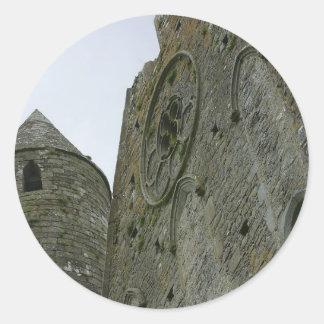 Rock of Cashel Classic Round Sticker