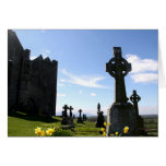 Rock of Cashel high crosses Stationery Note Card