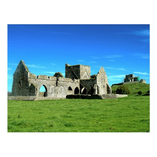 Rock of Cashel Ireland Postcard