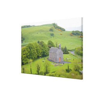 Rock of Dunamase, Ireland. Views of and around Stretched Canvas Prints