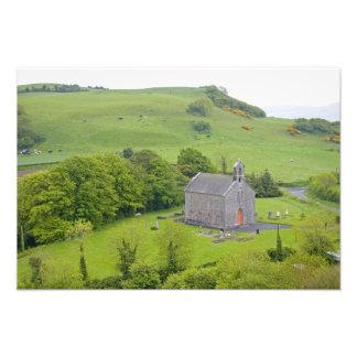 Rock of Dunamase, Ireland. Views of and around Photographic Print
