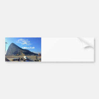 Rock of Gibraltar Airport Bumper Sticker