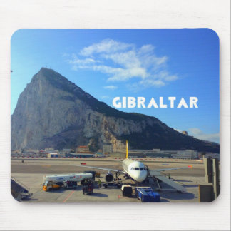 Rock of Gibraltar Airport Mouse Pad