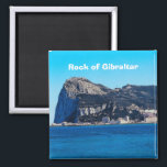 "Rock of Gibraltar Travel Photo Souvenir Magnet<br><div class=""desc"">Rock of Gibraltar Travel Souvenir Fridge Magnet</div>"