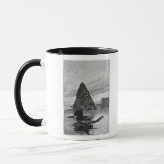 Rock of the Little Orphan on the Yangtze River Mug