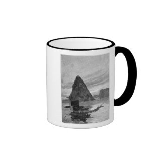Rock of the Little Orphan on the Yangtze River Mugs