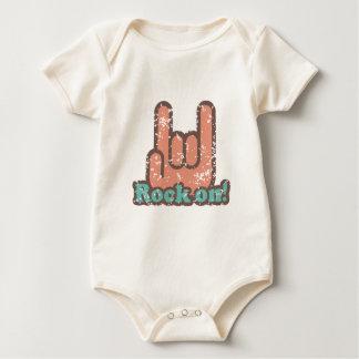Rock On Baby Bodysuit
