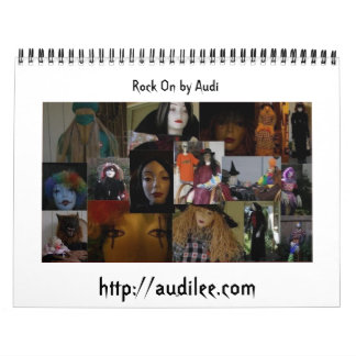 Rock On by Audi Collage Calendar