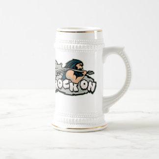 Rock On Caveman Mug