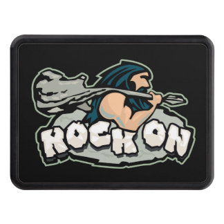 Rock On Caveman Trailer Hitch Cover