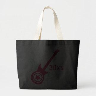 Rock on! Custom Guitar Graduation Bag (hot pink)