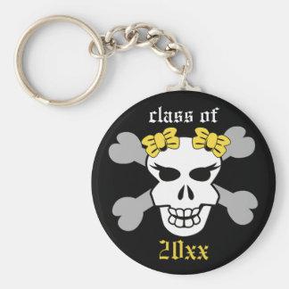 Rock on! Customized Graduation Keychain (lemon)