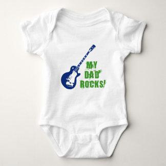 Rock On! Dad Baby Bodysuit