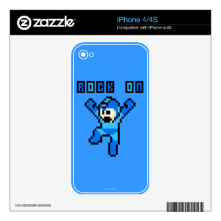 Rock On Decals For The iPhone 4