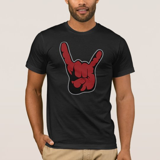 Rock On Dude! Devil Fingers Shirt! Double Sided T-Shirt