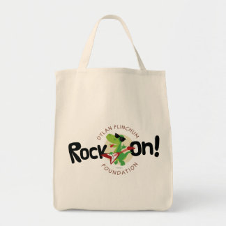 """Rock On!"" Foundation Grocery Tote"