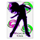 Rock On Girl T-Shirts & Gifts Card
