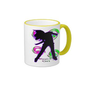 Rock On Girl T-Shirts & Gifts Coffee Mug