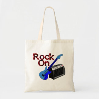 Rock On Guitar & Amp Budget Tote Bag
