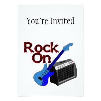 Rock On Guitar & Amp Card