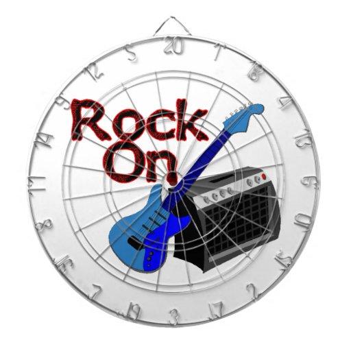 Rock On Guitar & Amp Dart Boards