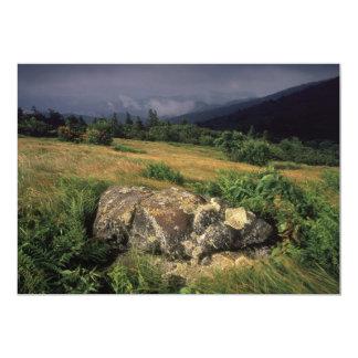Rock On Hillside Card