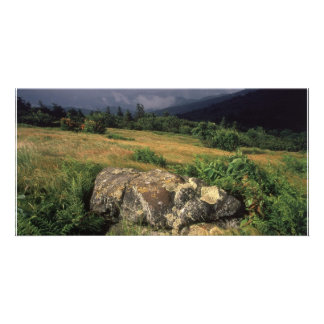 Rock On Hillside Photo Card Template