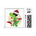 Rock On! Holiday Stamp