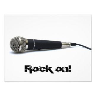 Rock on invite