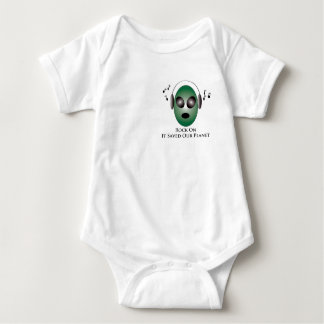 Rock On It Saved Our Planet Baby Bodysuit