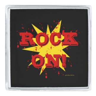 """Rock On"" Lapel Pin"