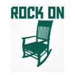 Rock On Letterhead Template