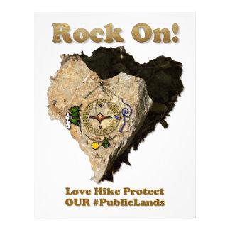 ROCK ON! Love Hike Protect Our Public Lands Letterhead