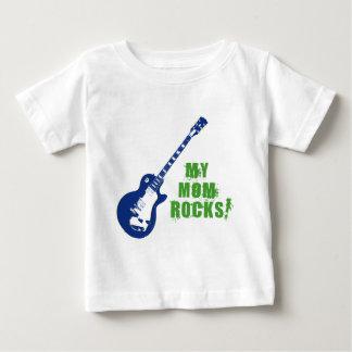 Rock On! Mom Baby T-Shirt
