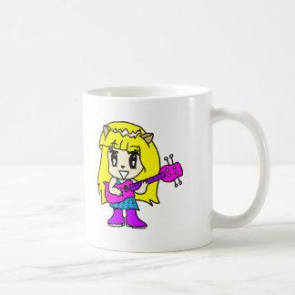 Rock On Classic White Coffee Mug