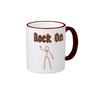 Rock On Ringer Coffee Mug