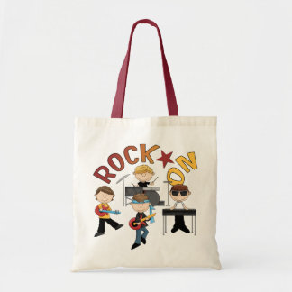 Rock On Music Gift Canvas Bags